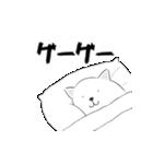 布団の中の柴犬(個別スタンプ:11)