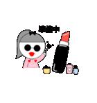 るの子×サングラス(個別スタンプ:02)