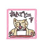手描き!のほほんネコ(個別スタンプ:03)
