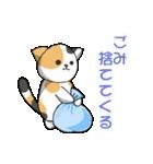 【日常用】行動猫スタンプ(個別スタンプ:08)