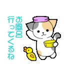 【日常用】行動猫スタンプ(個別スタンプ:24)