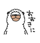 笑うアルパカ【関西弁】(個別スタンプ:06)