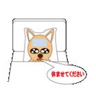 子犬で、メッセンジャー(個別スタンプ:03)