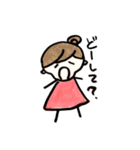 naonaoの日常スタンプ 6(個別スタンプ:09)