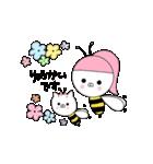 るの子×ねこ子(個別スタンプ:04)