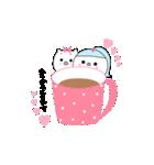るの子×ねこ子(個別スタンプ:09)