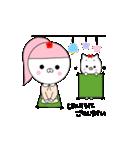 るの子×ねこ子(個別スタンプ:15)