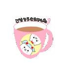 るの子×ねこ子(個別スタンプ:18)
