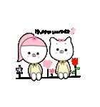 るの子×ねこ子(個別スタンプ:22)