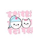 るの子×ねこ子(個別スタンプ:26)
