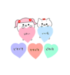 るの子×ねこ子(個別スタンプ:32)
