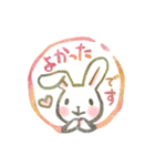 ハンコ de お返事3☆ゆる敬語編(個別スタンプ:39)