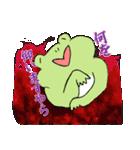 まったり カエル3(敬語.ver)(個別スタンプ:04)