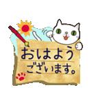 ~敬語で伝える~手紙ねこ【2】(個別スタンプ:01)
