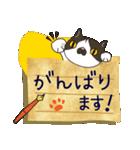 ~敬語で伝える~手紙ねこ【2】(個別スタンプ:05)