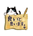 ~敬語で伝える~手紙ねこ【2】(個別スタンプ:09)