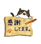 ~敬語で伝える~手紙ねこ【2】(個別スタンプ:12)