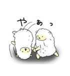 ひつじ×1(個別スタンプ:04)
