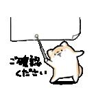 ほんわかしばいぬ<敬語>(個別スタンプ:22)