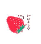 いちご&苺(個別スタンプ:01)