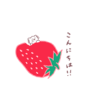 いちご&苺(個別スタンプ:02)
