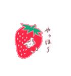 いちご&苺(個別スタンプ:04)