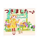 【日本語版】Lovely days♪【猫】(個別スタンプ:12)