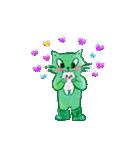 【日本語版】Lovely days♪【猫】(個別スタンプ:14)