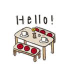 おしゃれな楽しい会話(個別スタンプ:02)