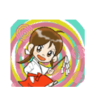 ことだま巫女ちゃん6(個別スタンプ:10)