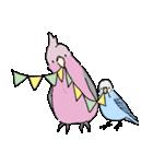 鳥と小動物(個別スタンプ:17)