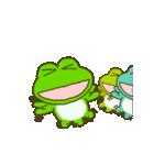 動く!帰るコール!カエルのスタンプ(個別スタンプ:19)