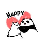 パンダと白いハムスター3(個別スタンプ:06)