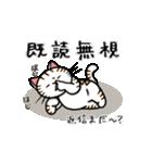 ちゃしろぶさへたねこ茶輔(さすけ)(個別スタンプ:17)