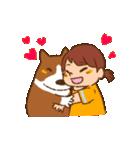 みるく&ゆきちゃん(個別スタンプ:04)