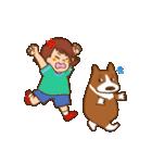 みるく&ゆきちゃん(個別スタンプ:16)