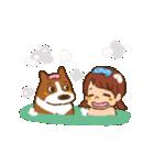 みるく&ゆきちゃん(個別スタンプ:22)