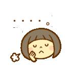 かわいい女の子スタンプ(ボブヘアー)(個別スタンプ:31)