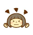 かわいい女の子スタンプ(ボブヘアー)(個別スタンプ:35)