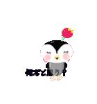 ペンギン【ペンチャム】のひとことスタンプ(個別スタンプ:35)
