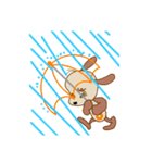 今日は雨かな、晴れかもね(個別スタンプ:5)