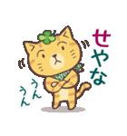 猫と四つ葉のクローバー 6(関西弁)(個別スタンプ:14)