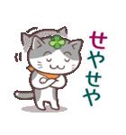 猫と四つ葉のクローバー 6(関西弁)(個別スタンプ:15)