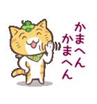 猫と四つ葉のクローバー 6(関西弁)(個別スタンプ:18)
