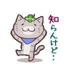 猫と四つ葉のクローバー 6(関西弁)(個別スタンプ:19)