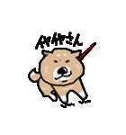 Japanese dog40(個別スタンプ:05)