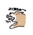 Japanese dog40(個別スタンプ:17)