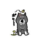 Japanese dog40(個別スタンプ:21)