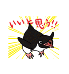 野良アデリー(動)(個別スタンプ:07)