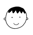 笑っている男の子(個別スタンプ:01)